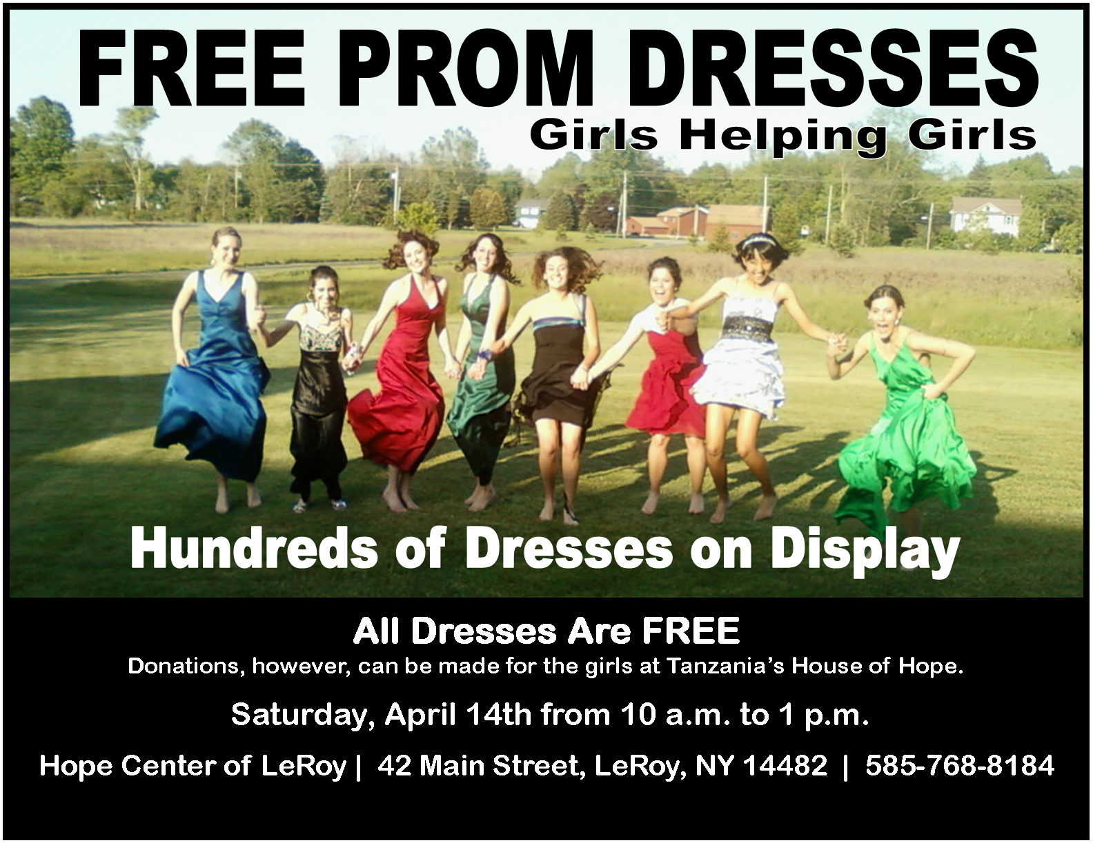 Prom Dress Giveaway 2018 Hope Center Of Leroy